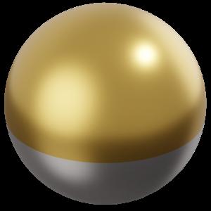 10 Karat Two-Tone Gold